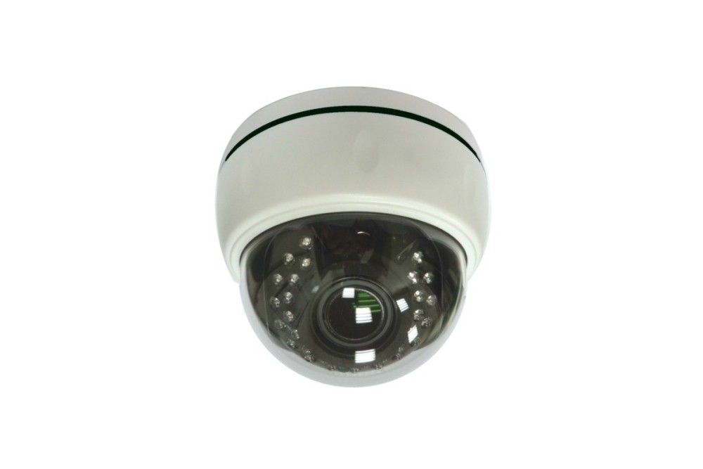 Color 5MP Vari Focal Dome IP IR Camera