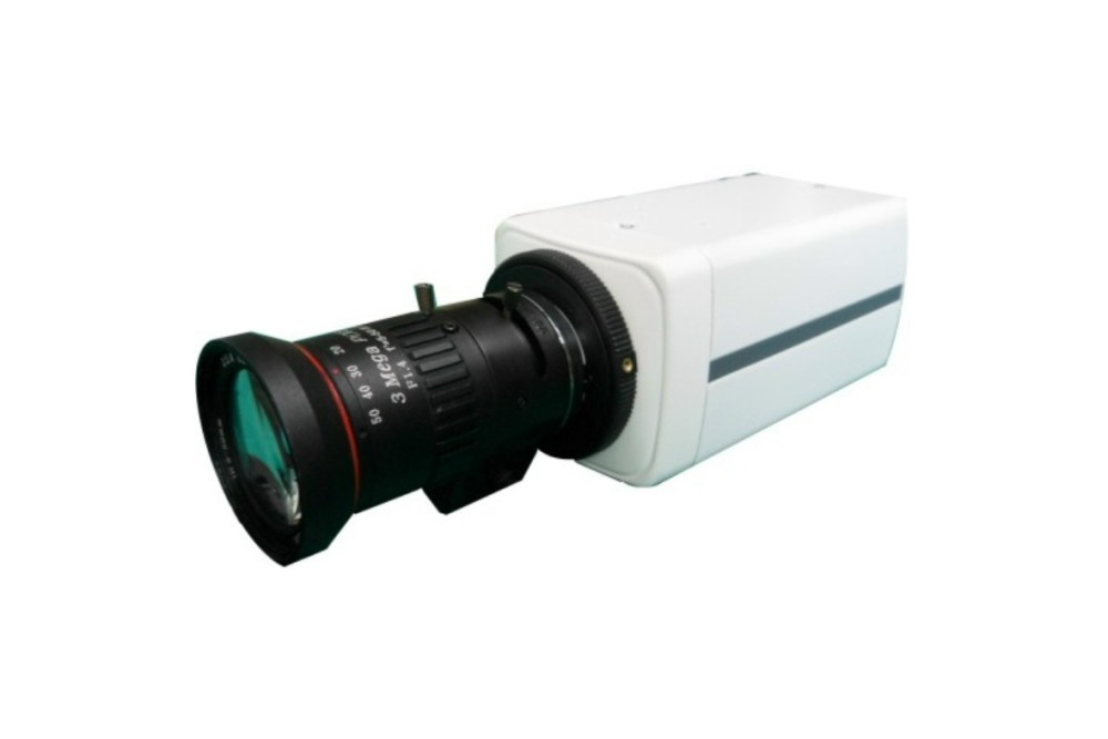 Color 5MP IP IR Box Camera